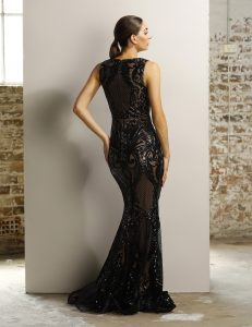 JX1091 Black+Nude Back