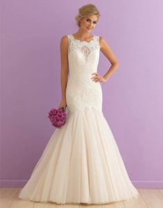 Stunning Gown in Ivory