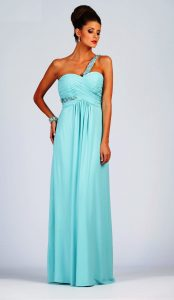 This gown available in Mint as pictured.